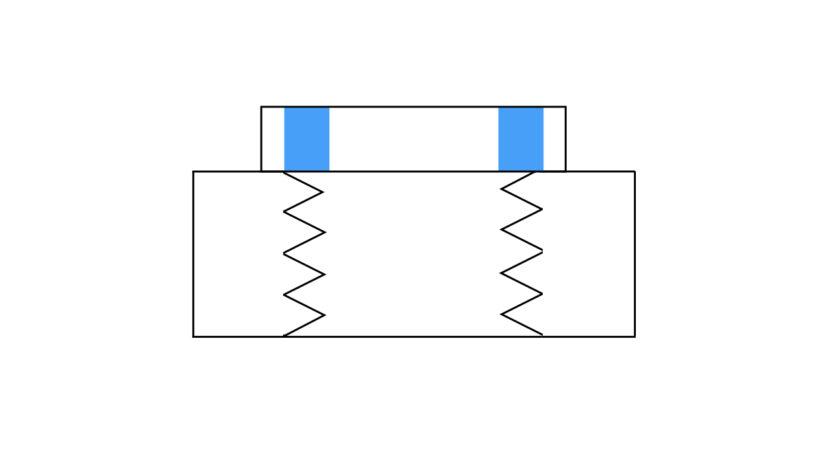 ナイロンナットの使い方と原理【導入しやすい緩み止めナットです】