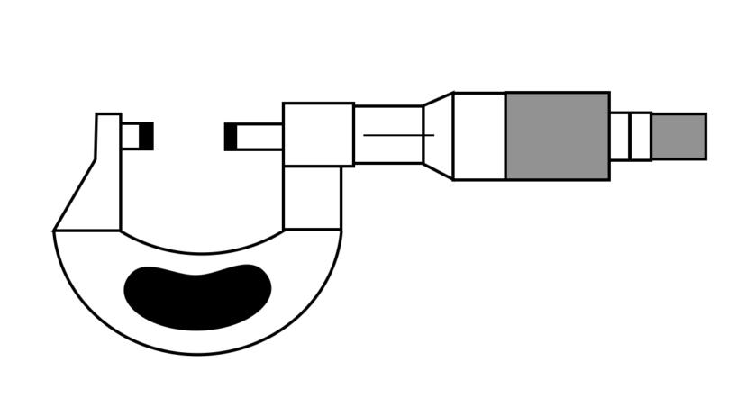 マイクロメーターの使い方と読み方【割とデリケートな測定器具です】
